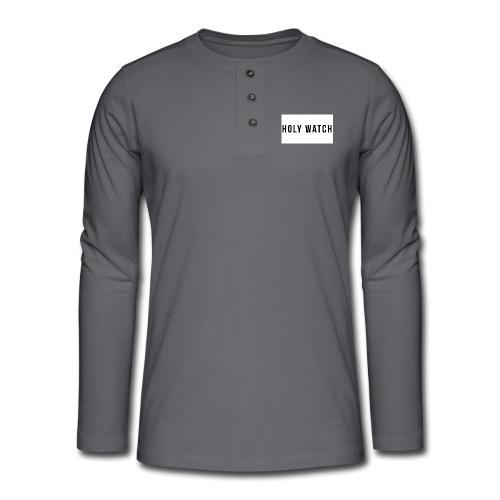 Holywatch T-Shirt - Henley shirt met lange mouwen