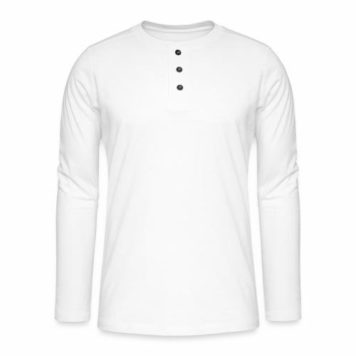#1 Developer - White - Henley long-sleeved shirt
