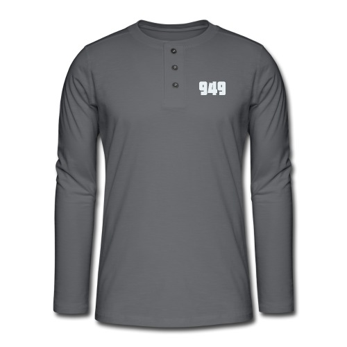 949withe - Henley Langarmshirt