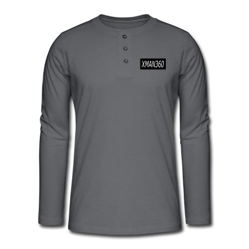 Merch design - Henley long-sleeved shirt