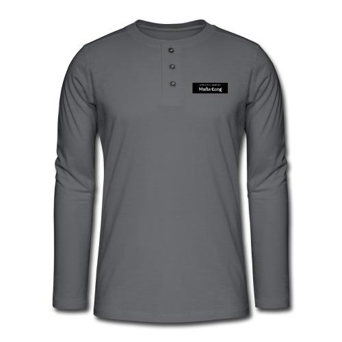 Mafia Gang - Nouvelle marque de vêtements - T-shirt manches longues Henley