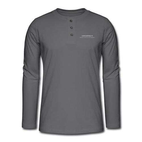 back 2 png - Henley shirt met lange mouwen