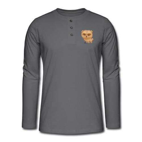 Dog - Henley shirt met lange mouwen