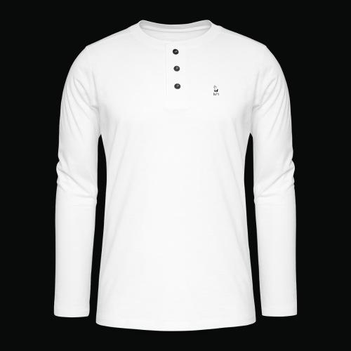 bafti long sleeve tee - Henley T-shirt med lange ærmer