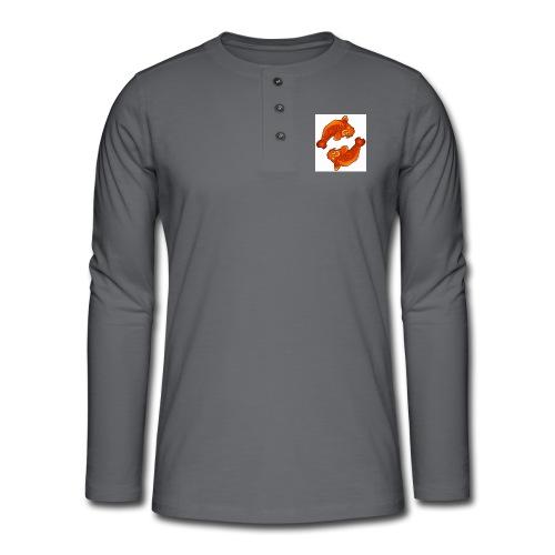 carpe - T-shirt manches longues Henley