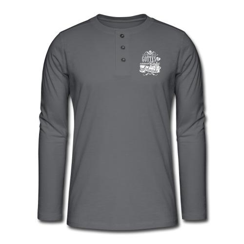 Gottes schönste Gabe - Henley Langarmshirt