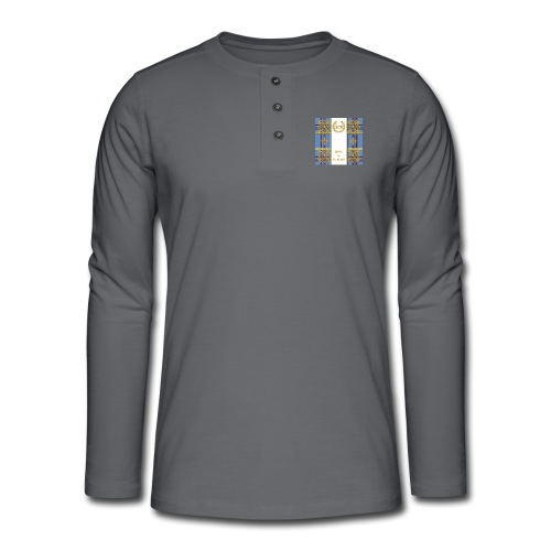 pride of scottland clan - Henley Langarmshirt