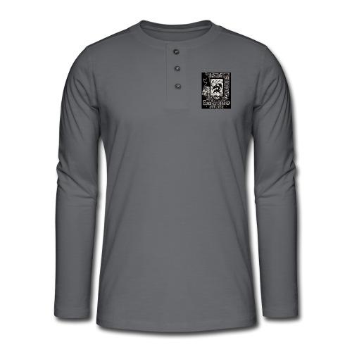 fatal charm - endangered species - Henley long-sleeved shirt