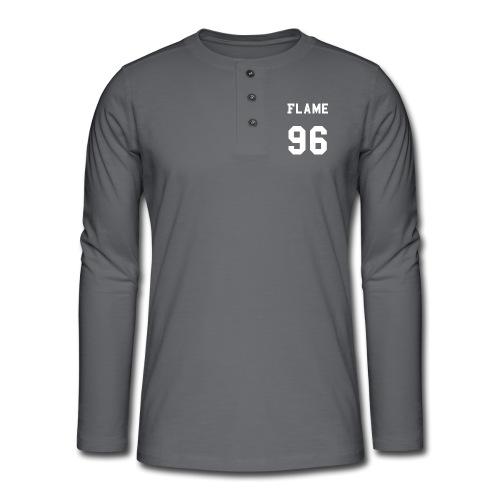 maglietta_flame_96 - Maglia a manica lunga Henley