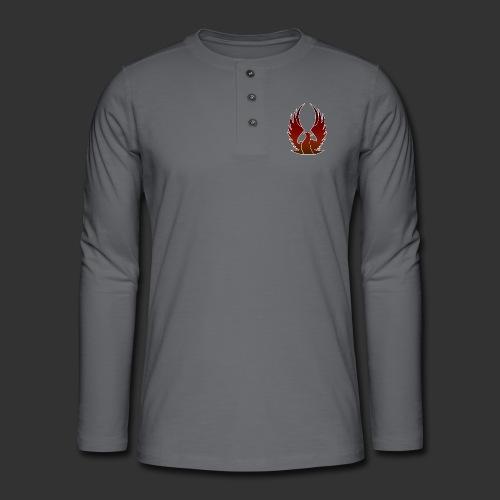 Phenix on fire - T-shirt manches longues Henley