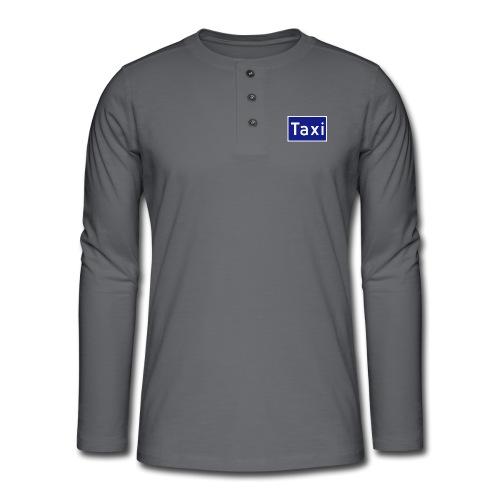 Taxi - Henley langermet T-skjorte