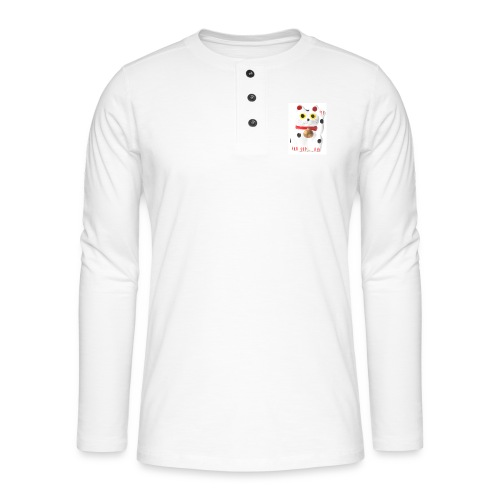 luckycat - Henley long-sleeved shirt