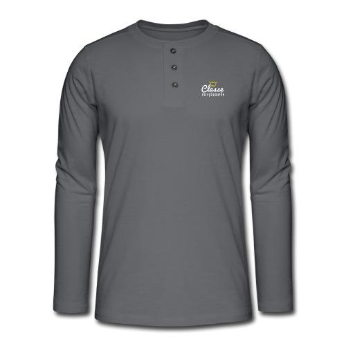 Classe exceptionnelle - T-shirt manches longues Henley
