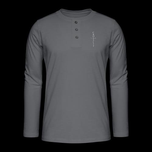 CrossFit Tuusula risti - Henley pitkähihainen paita