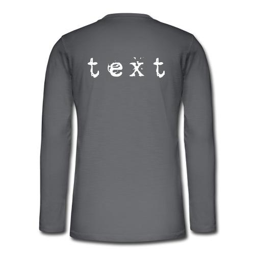 text - Henley Langarmshirt