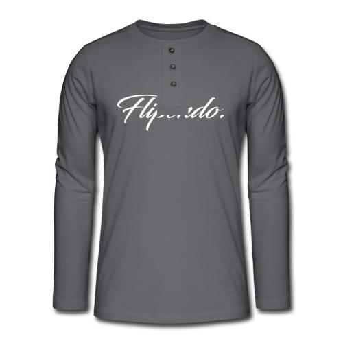 Flipendo. - Henley shirt met lange mouwen
