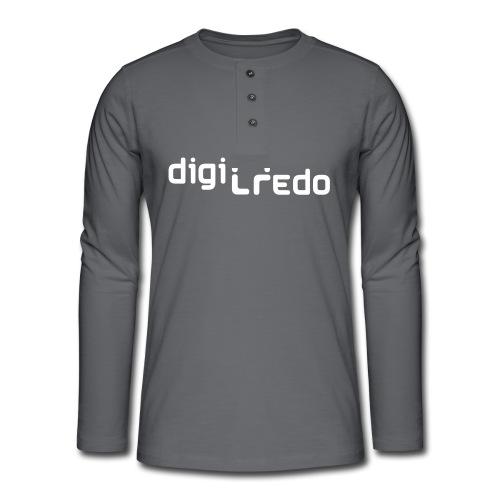 digiredo2 w - Henley shirt met lange mouwen