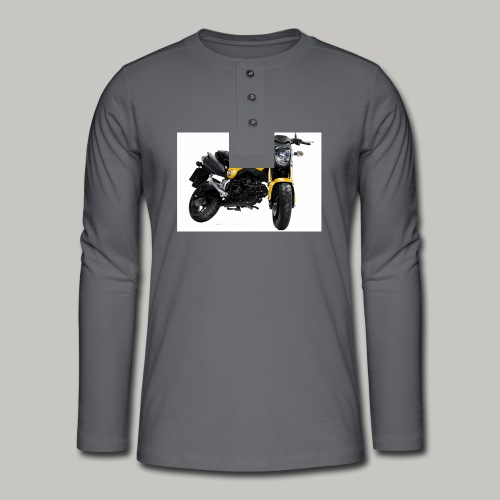 Grom Motorcycle (Monkey Bike) - Henley long-sleeved shirt