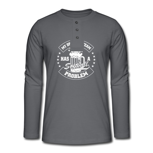 MY DRINKING TEAM - T-shirt manches longues Henley