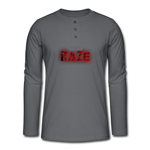RaZe Logo - Henley long-sleeved shirt