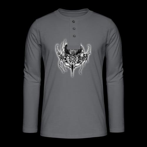 LOGO 2 png - Henley long-sleeved shirt