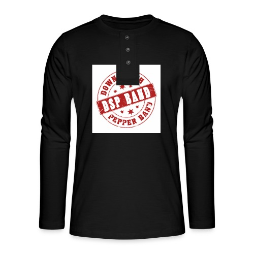 DSP band logo - Henley long-sleeved shirt