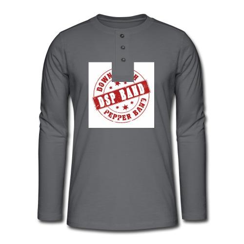DSP band logo - Henley long-sleeved shirt