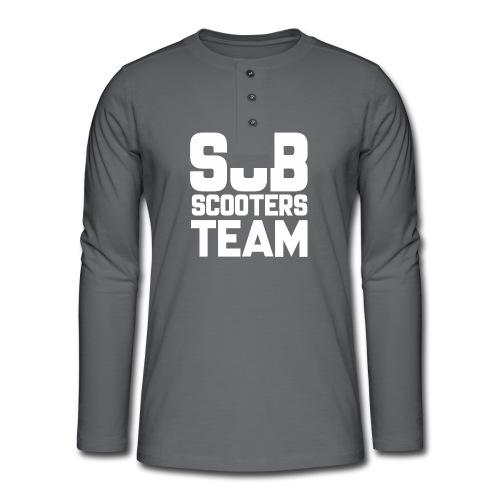 SubScootersTeam - Henley shirt met lange mouwen