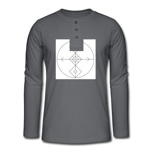 I release family karma now. - Henley langermet T-skjorte