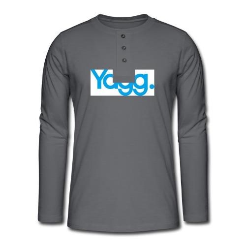 yagglogorvb - T-shirt manches longues Henley