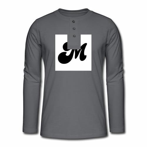 M - Henley long-sleeved shirt