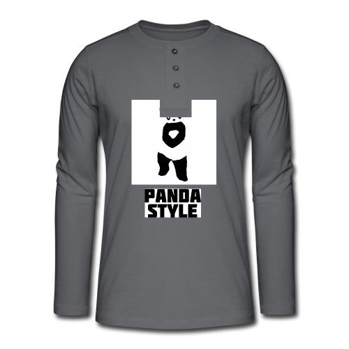 fffwfeewfefr jpg - Henley T-shirt med lange ærmer