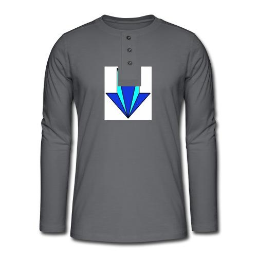 flecha - Camiseta panadera de manga larga Henley