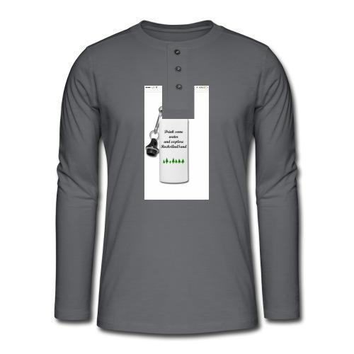 RocksAndSand adventure bottle - Henley long-sleeved shirt