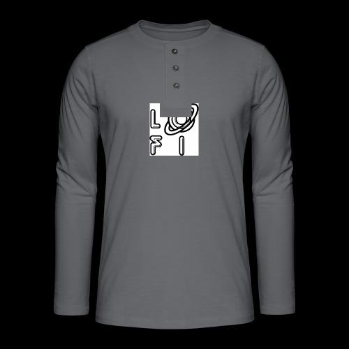 PLANET LOFI - Henley long-sleeved shirt