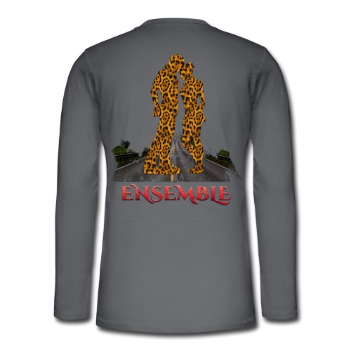 Ensemble leopard - couleur rouge crocodile - T-shirt manches longues Henley