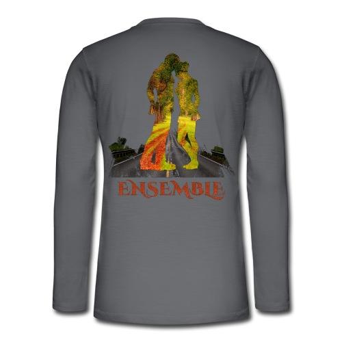 Ensemble -by- T-shirt chic et choc - T-shirt manches longues Henley