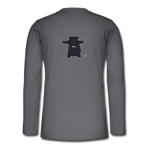 Henkie the Plush Rat - Henley langermet T-skjorte