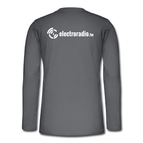 electroradio.fm - Henley long-sleeved shirt