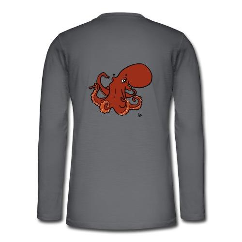 Giant Pacific Octopus - Henley langermet T-skjorte