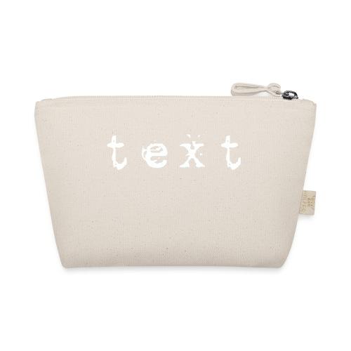 text - Täschchen