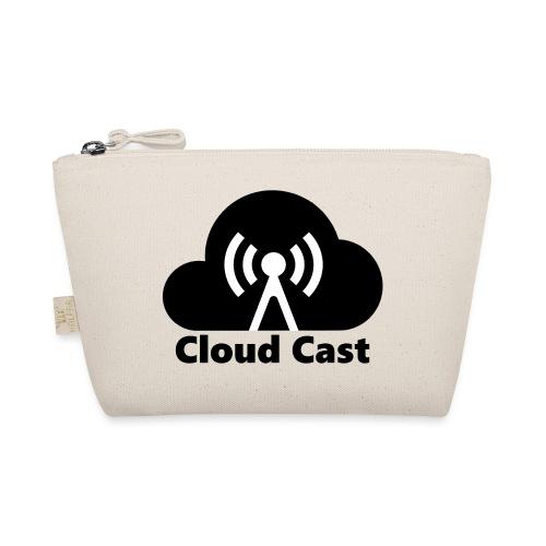 Cloud Cast Black mit Schriftzuga - Täschchen