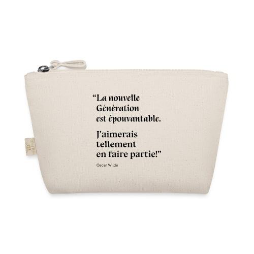 Citation sur la nouvelle génération - Oscar Wilde - Trousse