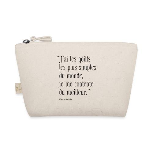 Citation ironique - Oscar Wilde - Trousse
