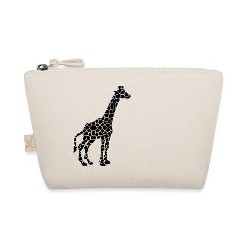 Giraffe (black) - Pikkulaukku