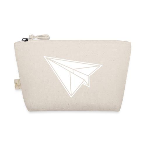 1 color - Origami Papierflugzeug Jet Papierflieger - Täschchen