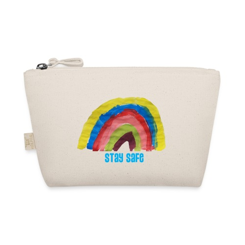Stay Safe Rainbow Tshirt - The Wee Pouch