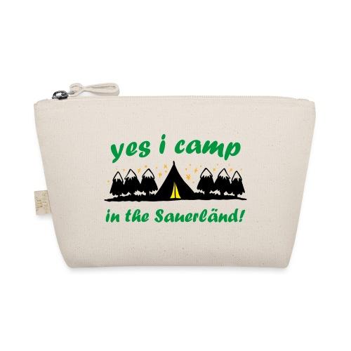 yes i camp in the Sauerländ - Täschchen