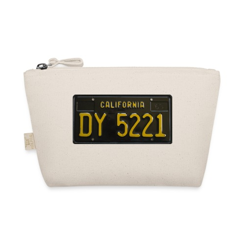 CALIFORNIA BLACK LICENCE PLATE - The Wee Pouch