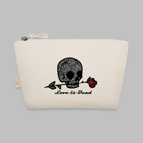 Love Is Dead Custom Skull Design - Tasje
